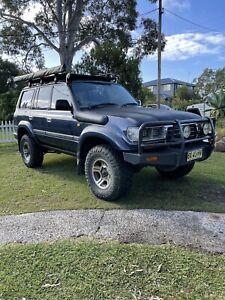 1997 80 series landcruiser auto