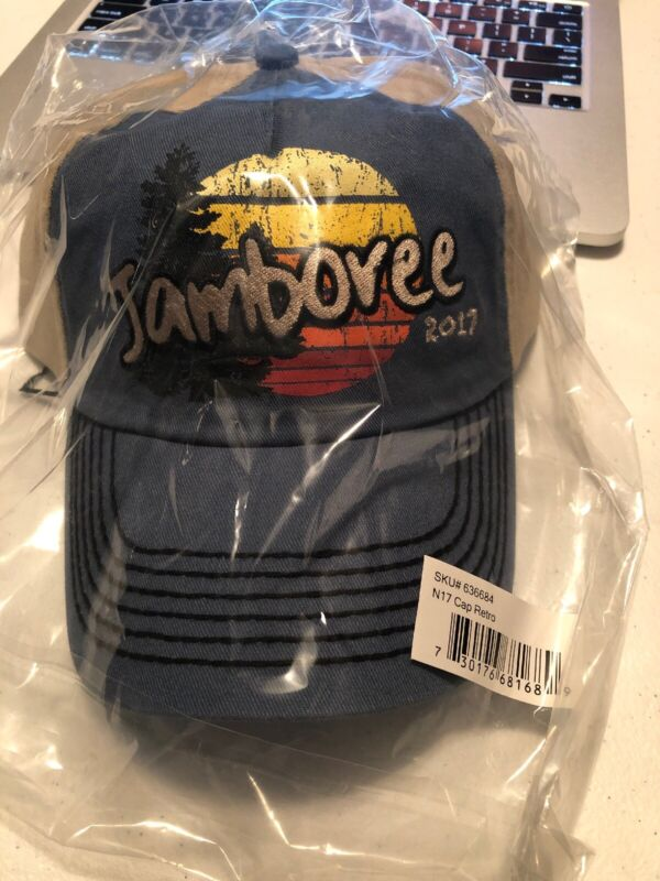 2017 BSA National Jamboree Retro Cap/Hat