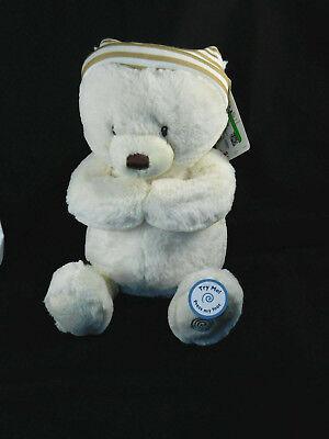 Baby Gund Goodnight Prayer Bear Teddy Animated Plush Toy Talks Motion New w Tags