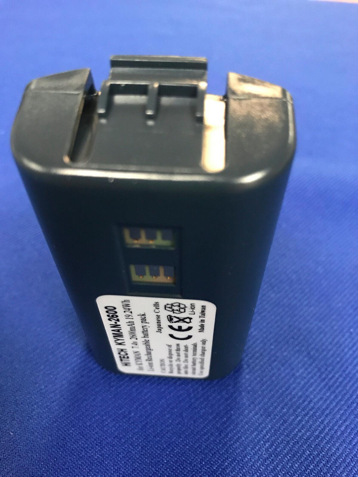 10 Batteries(Japan Li7 4v2 6A)For Datalogic/PSC/Honeywell
