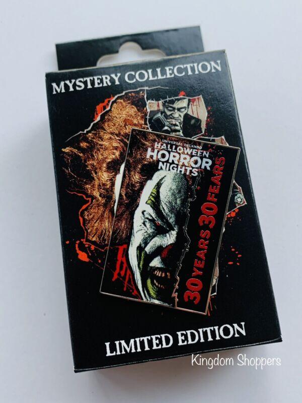 2021 Universal Orlando HHN Mystery Pin Halloween Horror Nights Jack