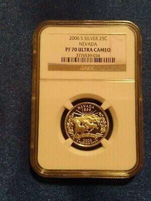 2006 South Dakota P State Quarter Original Mint Sewn Bag 100 UNC coins $25