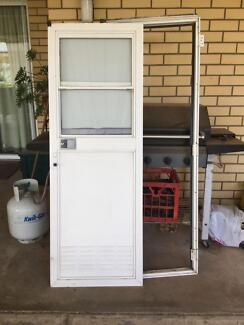 Caravan parts door and frame