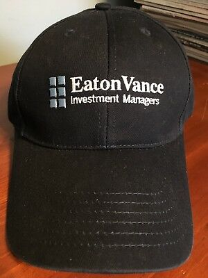 New Eaton Vance Managed Investments Navy Blue Baseball Cotton Cap Hat Adjustable