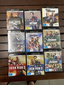 4k Movie Lot BRAND NEW