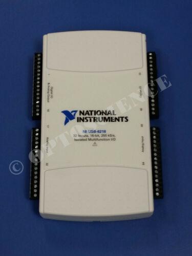 National Instruments USB-6218 Data Acquisition Card, NI DAQ, Multifunction