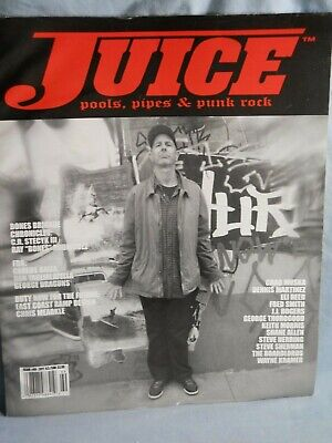 Juice Skateboard Magazine Pools, Pipes & Punk Rock Issue #69 2011 Chad Muska
