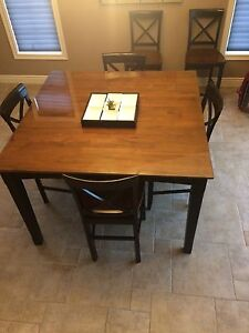 """54"""" x 54"""" counter height table"""