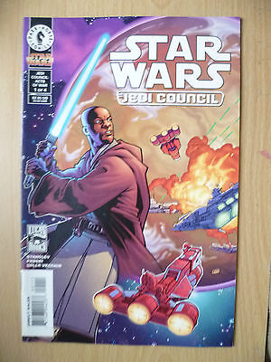DARK HORSE COMIC STAR WARS- JEDI COUNCIL , No. 1, JUNE 2000