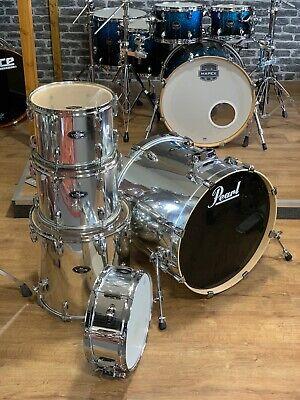 Pearl Vision Birch Drum Kit Shell Pack Mirror Chrome #312