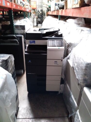Konica Minolta Bizhub C554e  Printer Copier Scanner Color Mfp Low Meter