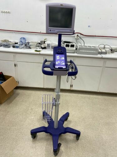 Carefusion Enve/Revel Docking Charger With Rolling Stand and Screen