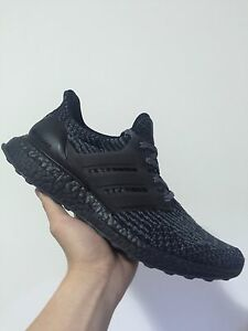 Ultra boost triple black/silver US9 Eastwood Ryde Area Preview