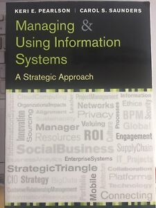 Managing &using information systems