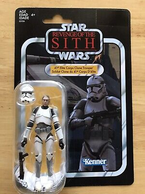 STAR WARS VINTAGE COLLECTION 41st ELITE CORPS CLONE TROOPER VC145 FIGURE