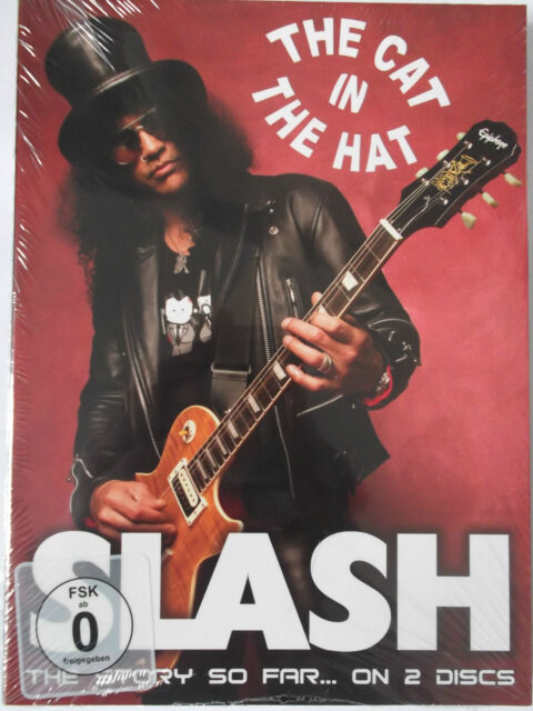 Slash - The Cat in the Hat - DVD & CD - Saul Hudson v. Guns N' Roses - The Story