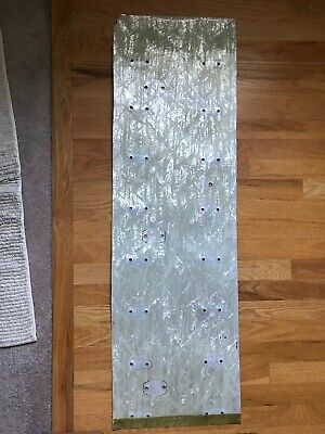 Ludwig white marine pearl drum wrap 14x14