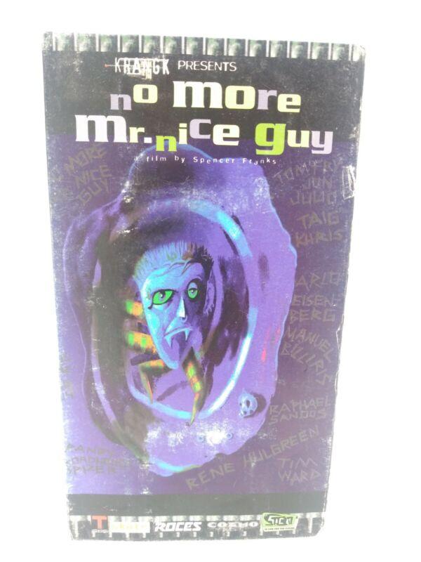 Inline Skate No More Mr Nice Guy VHS 1997 RARE