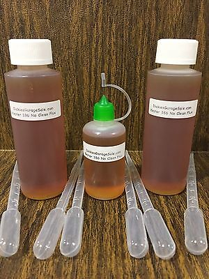330.94ml11.19oz Needle Tip Bottle Combo Kester 186 Rosin No Clean Flux