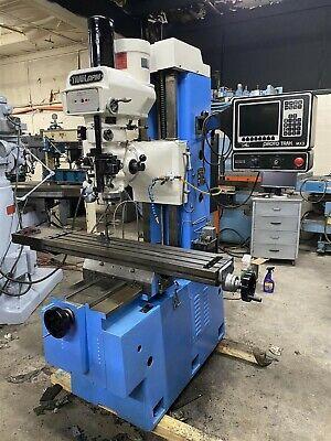 Proto Trak Dpm Cnc Bed Mill 10 X 50 Table Mx3 Control
