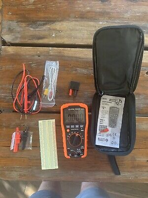 Klein Tools Mm600 Hvac Digital Auto-ranging Multimeter Kit 11b7310b