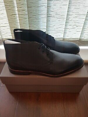 H by Hudson Houghton 2 Mens Black Chukka Ankle Boots Size UK 11