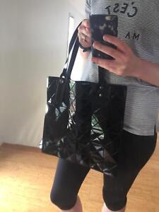 cb5958b3c9ac Replica Issey Miyake Bao Bao Geometric Tote Bag Black