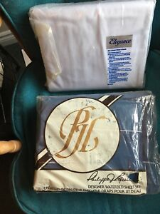 2 Sets of WATERBED SHEETS & PILLOWCASES