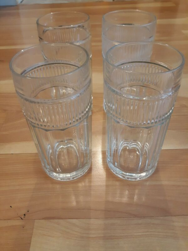 Anchor Hocking...Annapolis... Drinking Glasses...Set Of 4