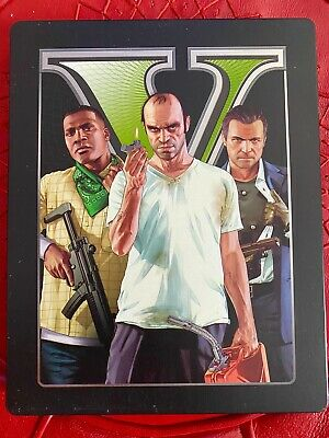 Grand Theft Auto V - Special Edition PS4 (Sony PlayStation 4, 2013) Premium