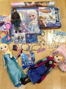 Frozen Anna Elsa Christof ultimate package