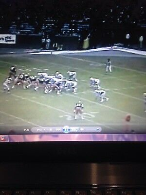 1980 Cleveland Browns at Baltimore Colts dvd Cleveland Browns Dvd
