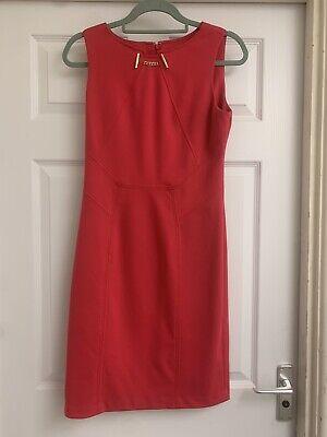 Ivanka Trump Deep Pink Shift  Dress Size US6 UK 10