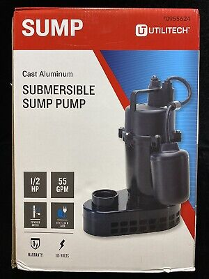 Utilitech Submersible Sump Pump 0955624 Brand New