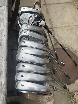 Taylormade Burner Iron Set With Rescue Wood And King Cobra Irons And Nike Wedge