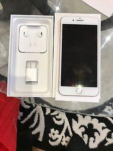 iPhone 7 plus rose gold 128gb unlock
