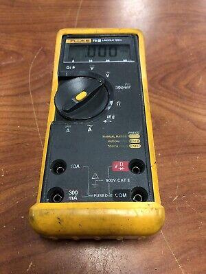 Fluke 73 Iii Digital Industrial Multimeter No Leads