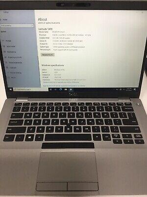 """Dell Latitude 5410 laptop 14"""" 256GB SSD,IntelCore i5 10th Gen 8GB 5334"""