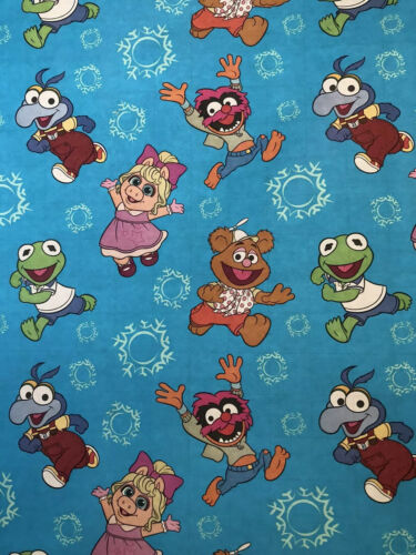 Disney Muppet Babies Christmas Gift Wrapping Paper 2 Yards F