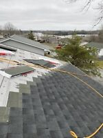 Roofing Installation & Repairs.  Professional & Insured
