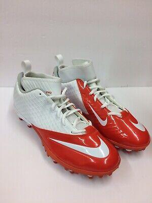 fc765b8c8f5 Nike NEW Superbad Pro Orange White Football Cleats Mens Size 13 511334-116