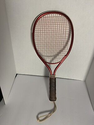 """Vintage Antique Rare Wood Racquetball Racquet /""""Add In/"""" Brand Taiwan T-1205"""