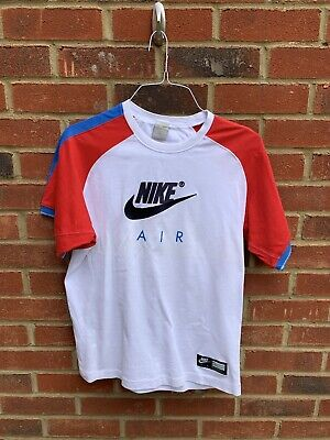 Nike Men's T-Shirt, Size Medium Spell Out Nike Air