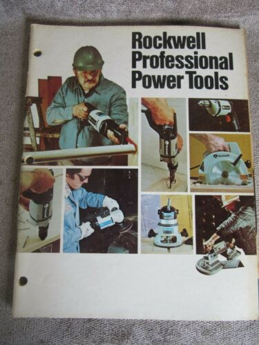Vintage 1979 Rockwell Professional Power Tools Catalog AD-3500 1/79 6Y (68)