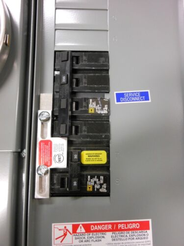 SD-200SA Square D Generator interlock kit 150, 200 Amp Homeline panel Listed