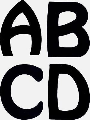 5 inch Uppercase Die Cut Alphabet Letters For Posters Signs Banners - 26 Letters