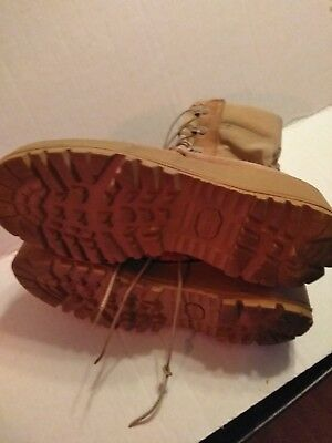 ALTAMA HOT WEATHER DESERT TAN, SIZE 7 - REG ,, GREAT  SHAPE.