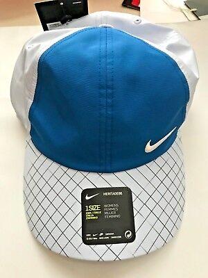 e44db2cf Nike Women's AeroBill Featherlight Adjustable Tennis Visor 898263 466