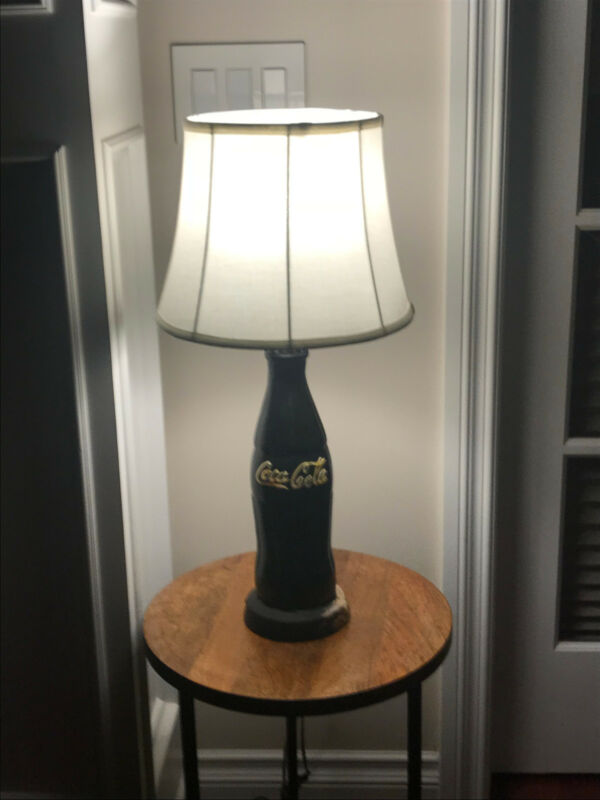 Vintage Coca-Cola advertising Lamp base