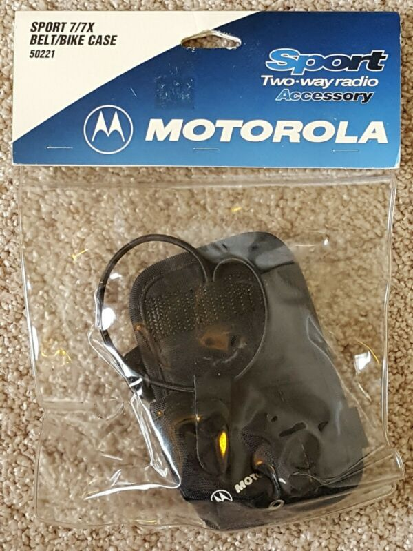 NOS! Discontinued! Motorola Sport 7/7X Belt/Bike Case 50221